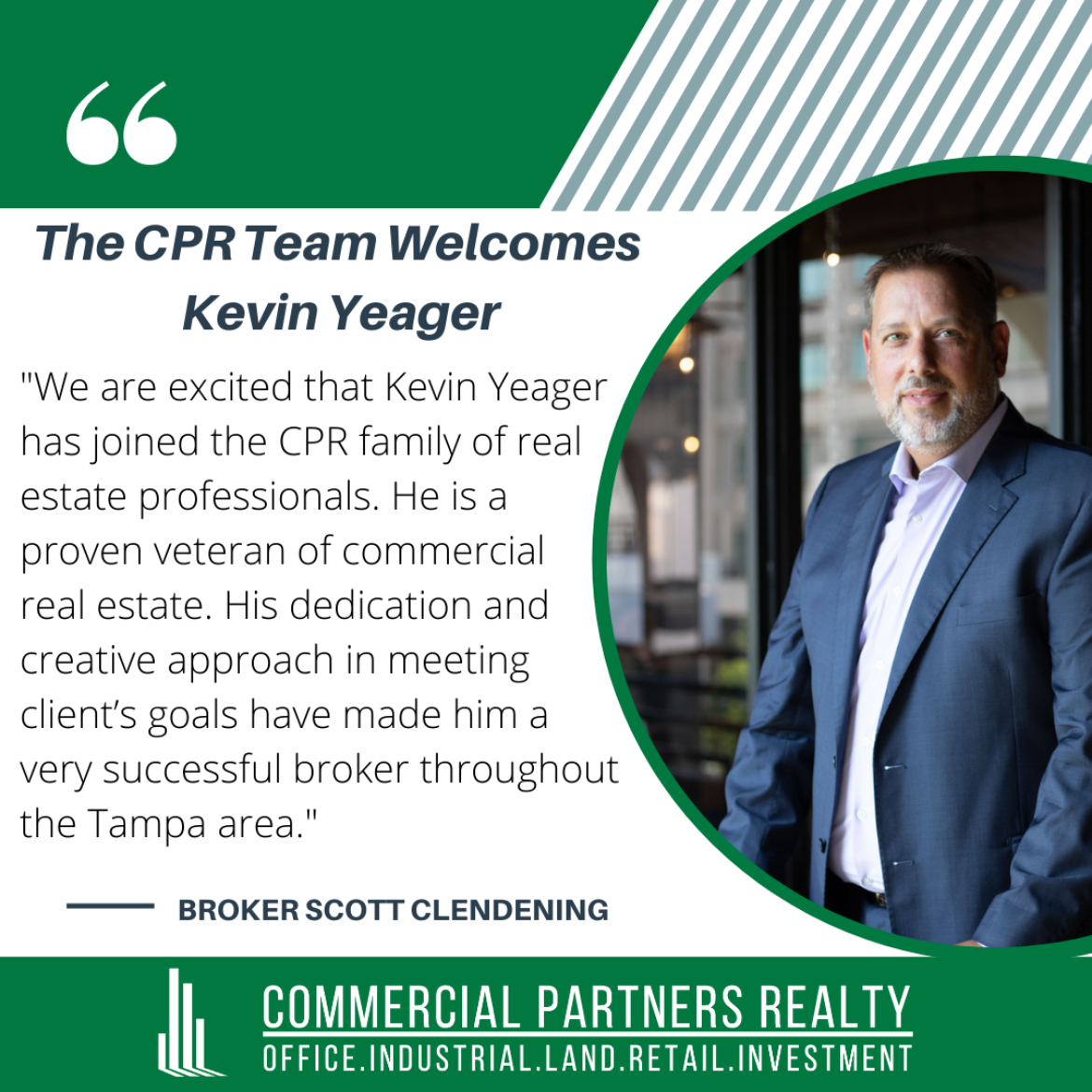 Kevin Yeager Welcome